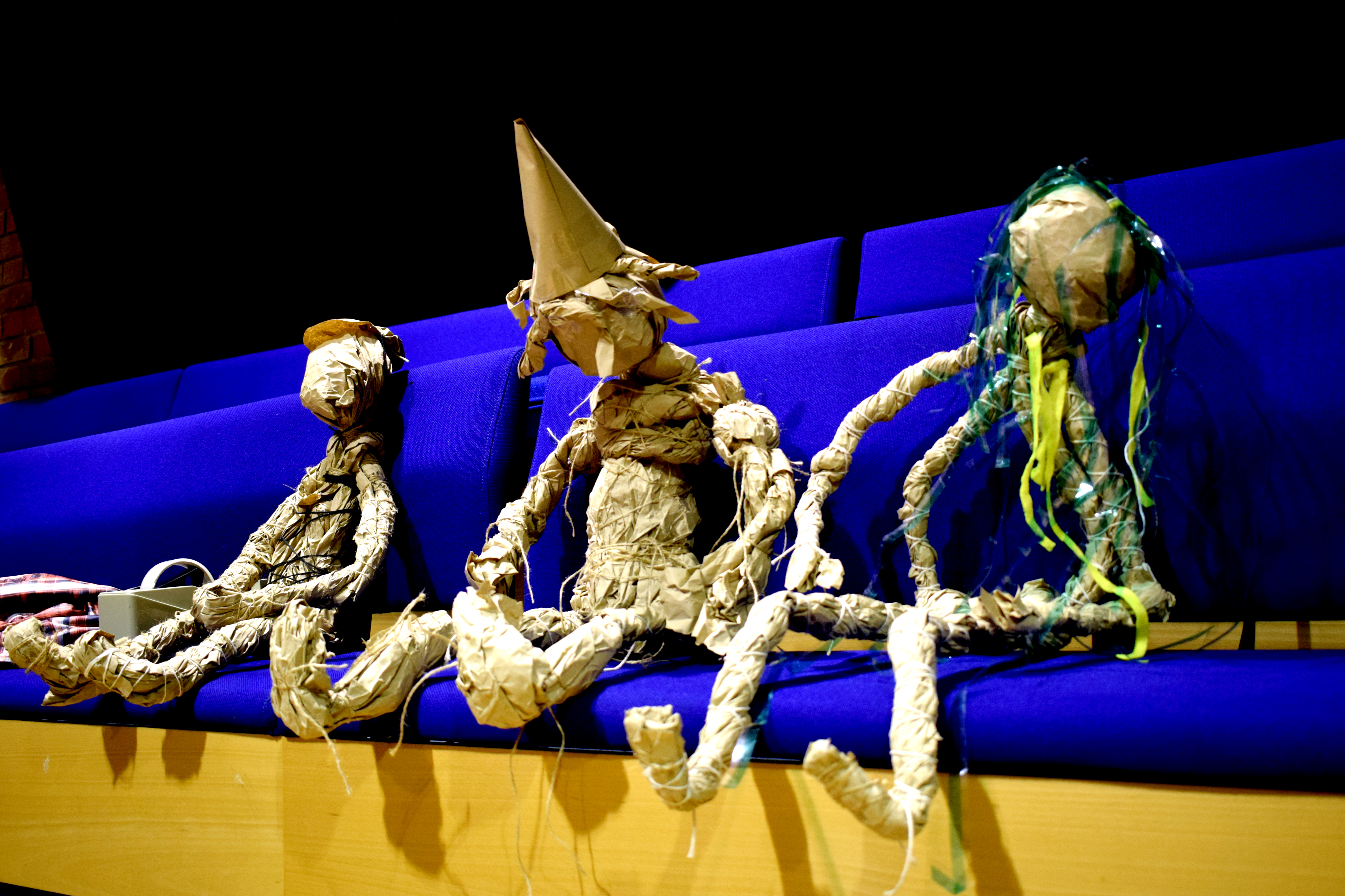 Feedback from puppetry workshops in Bristol